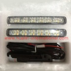 Car AUTO DRL Daytime Running with Yellow Turning Signal Light